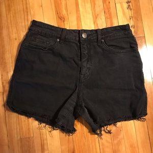 BDG denim cut off shorts